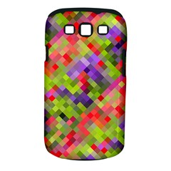 Colorful Mosaic Samsung Galaxy S Iii Classic Hardshell Case (pc+silicone)