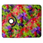 Colorful Mosaic Samsung Galaxy Note II Flip 360 Case Front