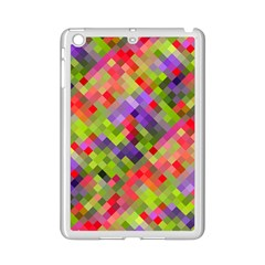 Colorful Mosaic Ipad Mini 2 Enamel Coated Cases