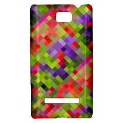 Colorful Mosaic HTC 8S Hardshell Case