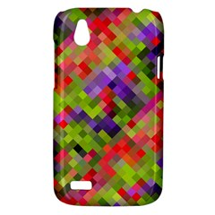 Colorful Mosaic HTC Desire V (T328W) Hardshell Case