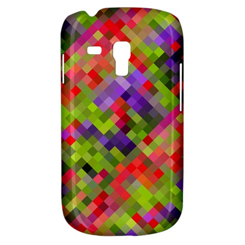 Colorful Mosaic Samsung Galaxy S3 MINI I8190 Hardshell Case