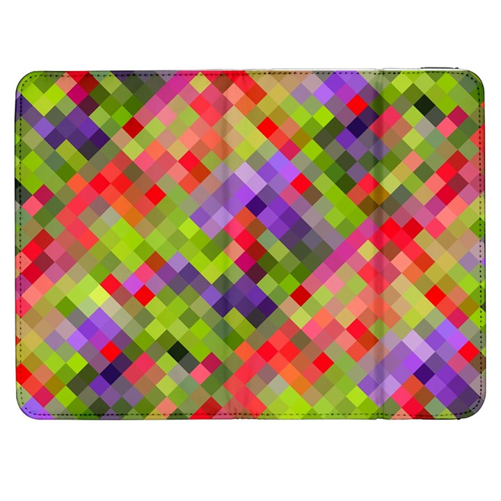 Colorful Mosaic Samsung Galaxy Tab 7  P1000 Flip Case