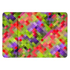 Colorful Mosaic Samsung Galaxy Tab 8.9  P7300 Flip Case