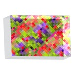 Colorful Mosaic 4 x 6  Acrylic Photo Blocks Front