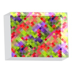 Colorful Mosaic 5 x 7  Acrylic Photo Blocks
