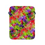 Colorful Mosaic Apple iPad 2/3/4 Protective Soft Cases Front