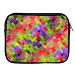 Colorful Mosaic Apple iPad 2/3/4 Zipper Cases Front