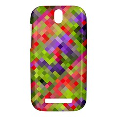 Colorful Mosaic HTC One SV Hardshell Case