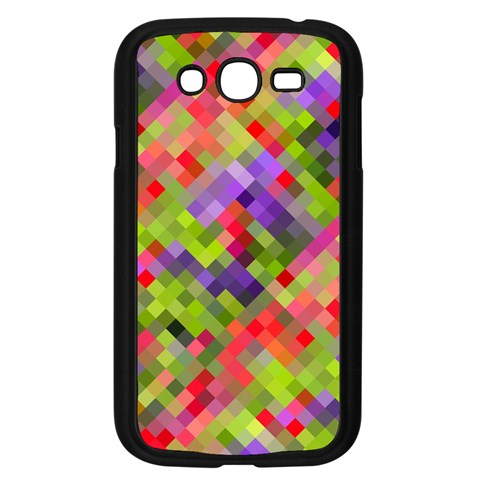 Colorful Mosaic Samsung Galaxy Grand DUOS I9082 Case (Black)