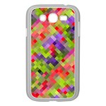 Colorful Mosaic Samsung Galaxy Grand DUOS I9082 Case (White) Front