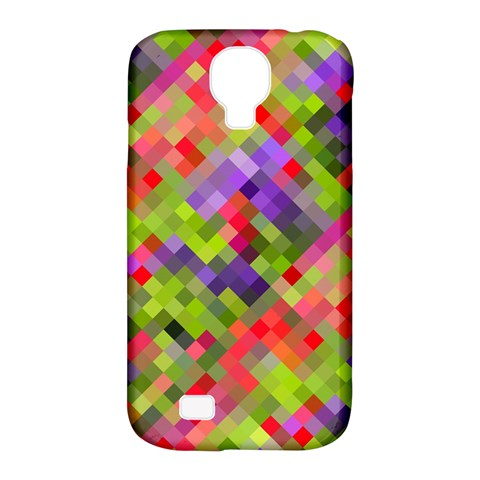 Colorful Mosaic Samsung Galaxy S4 Classic Hardshell Case (PC+Silicone)