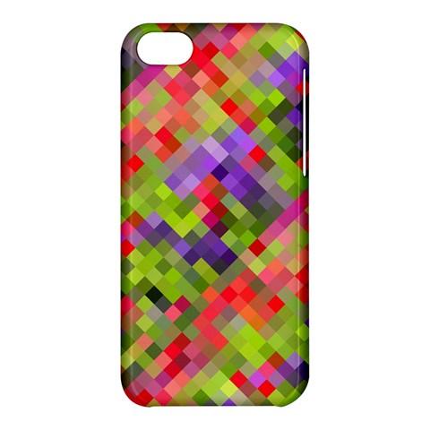 Colorful Mosaic Apple iPhone 5C Hardshell Case