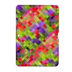 Colorful Mosaic Samsung Galaxy Tab 2 (10 1 ) P5100 Hardshell Case