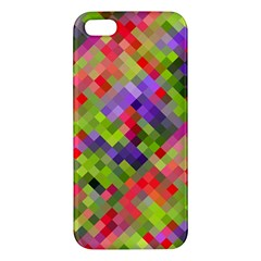 Colorful Mosaic iPhone 5S/ SE Premium Hardshell Case