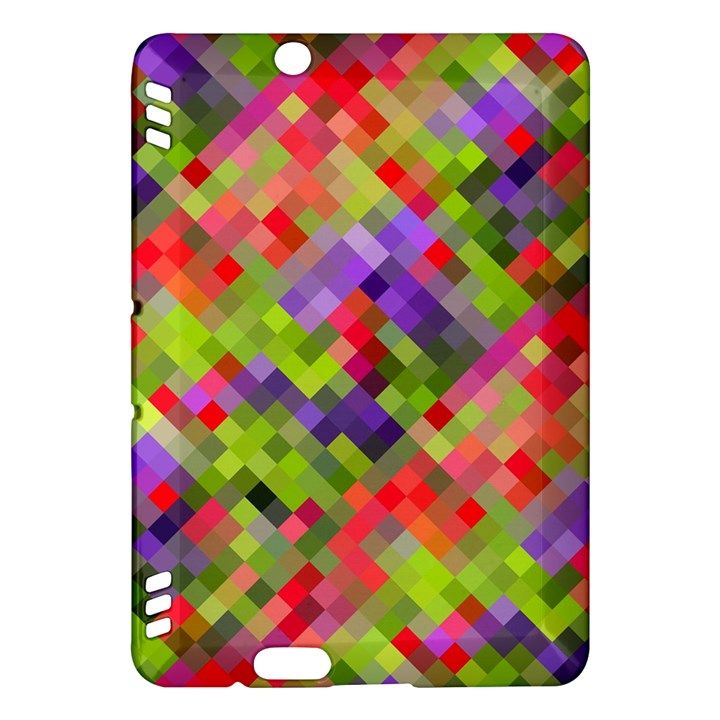 Colorful Mosaic Kindle Fire HDX Hardshell Case
