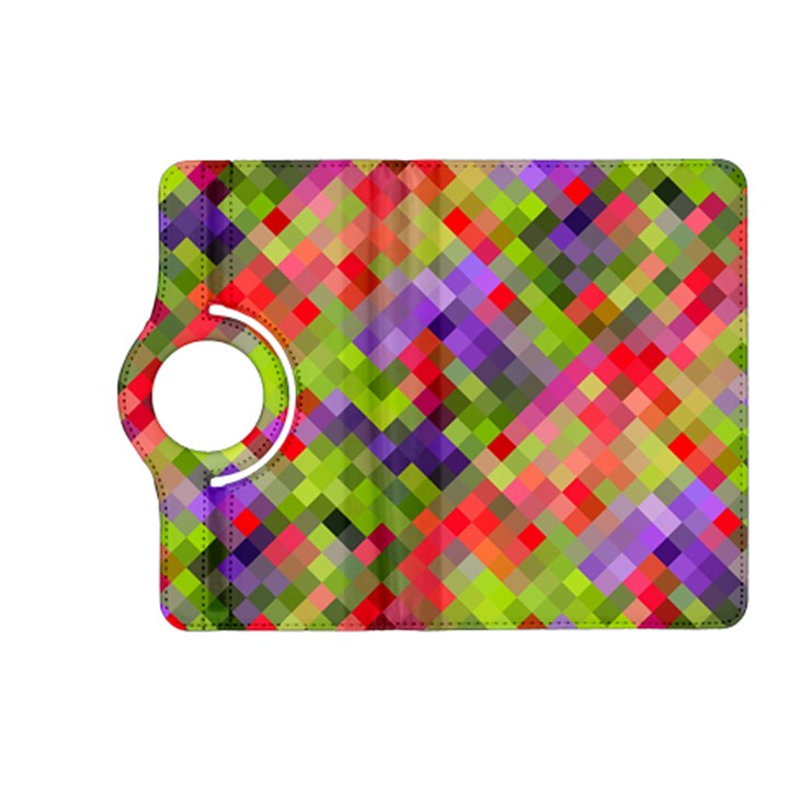 Colorful Mosaic Kindle Fire HD (2013) Flip 360 Case