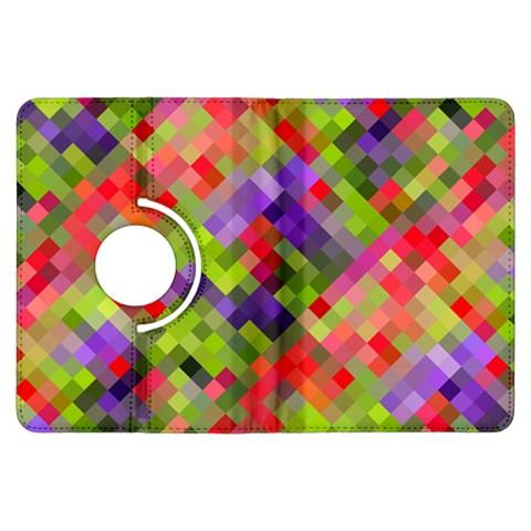 Colorful Mosaic Kindle Fire HDX Flip 360 Case