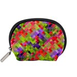 Colorful Mosaic Accessory Pouches (Small)  Front