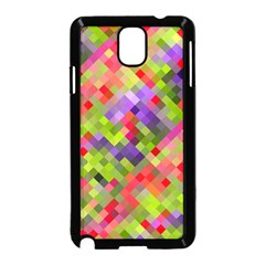 Colorful Mosaic Samsung Galaxy Note 3 Neo Hardshell Case (Black)