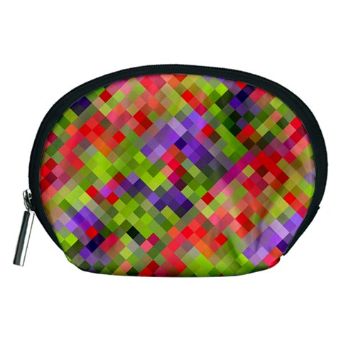 Colorful Mosaic Accessory Pouches (Medium)