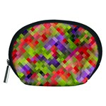 Colorful Mosaic Accessory Pouches (Medium)  Front