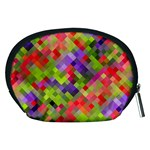 Colorful Mosaic Accessory Pouches (Medium)  Back