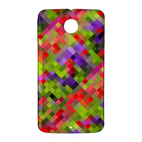 Colorful Mosaic Nexus 6 Case (White)