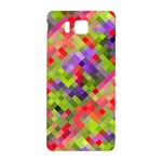 Colorful Mosaic Samsung Galaxy Alpha Hardshell Back Case Front