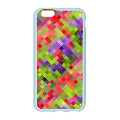 Colorful Mosaic Apple Seamless iPhone 6/6S Case (Color)
