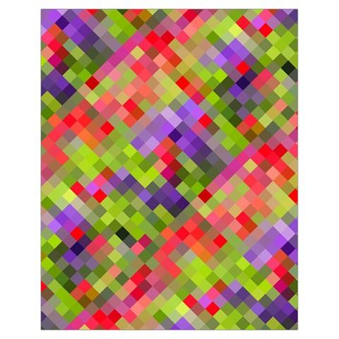 Colorful Mosaic Drawstring Bag (Small)