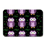 Halloween purple owls pattern Plate Mats 18 x12 Plate Mat - 1