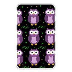 Halloween Purple Owls Pattern Memory Card Reader