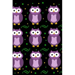 Halloween Purple Owls Pattern 5 5  X 8 5  Notebooks