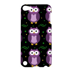 Halloween Purple Owls Pattern Apple Ipod Touch 5 Hardshell Case