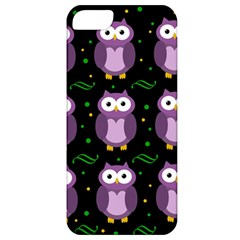 Halloween Purple Owls Pattern Apple Iphone 5 Classic Hardshell Case
