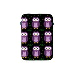 Halloween purple owls pattern Apple iPad Mini Protective Soft Cases Front