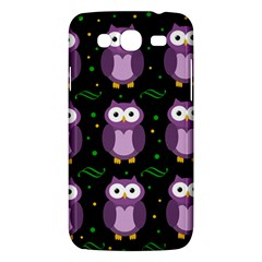 Halloween Purple Owls Pattern Samsung Galaxy Mega 5 8 I9152 Hardshell Case