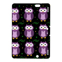 Halloween Purple Owls Pattern Kindle Fire Hdx 8 9  Hardshell Case