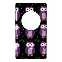 Halloween purple owls pattern Nokia Lumia 1020