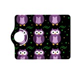 Halloween purple owls pattern Kindle Fire HD (2013) Flip 360 Case Front