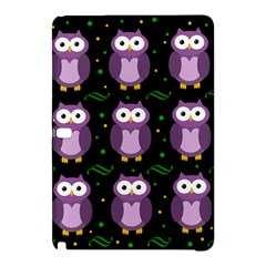 Halloween Purple Owls Pattern Samsung Galaxy Tab Pro 10 1 Hardshell Case