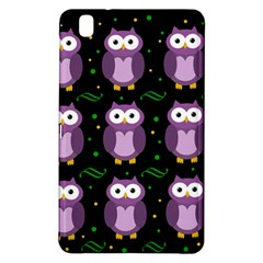 Halloween purple owls pattern Samsung Galaxy Tab Pro 8.4 Hardshell Case