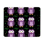 Halloween purple owls pattern Samsung Galaxy Tab Pro 8.4  Flip Case Front
