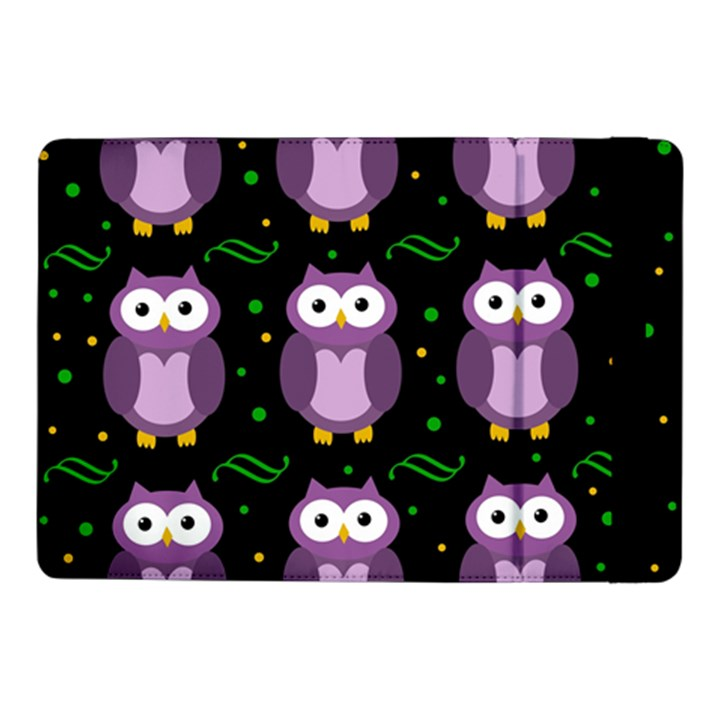 Halloween purple owls pattern Samsung Galaxy Tab Pro 10.1  Flip Case