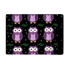 Halloween Purple Owls Pattern Ipad Mini 2 Flip Cases