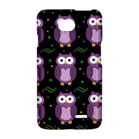 Halloween purple owls pattern LG Optimus L70
