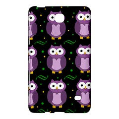 Halloween purple owls pattern Samsung Galaxy Tab 4 (8 ) Hardshell Case