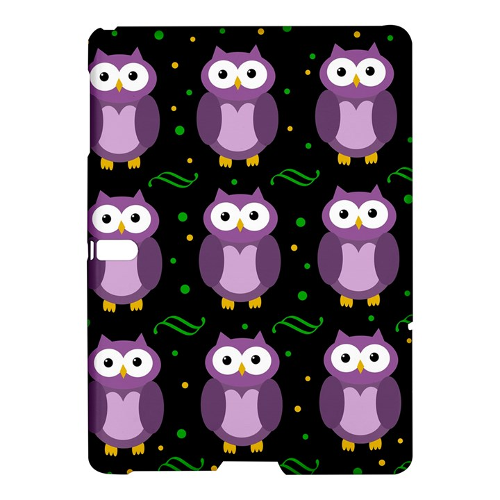 Halloween purple owls pattern Samsung Galaxy Tab S (10.5 ) Hardshell Case