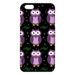 Halloween purple owls pattern iPhone 6 Plus/6S Plus TPU Case Front